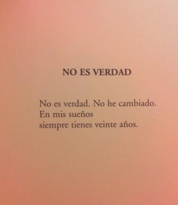 NO ES VERDAD